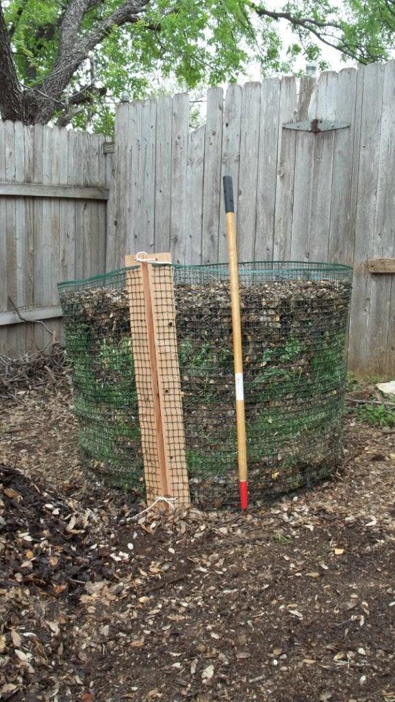Cheasy (Cheap and Easy) Compost Bin