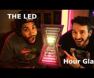 LED小时玻璃