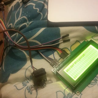 Connecting an LCD to the Arduino