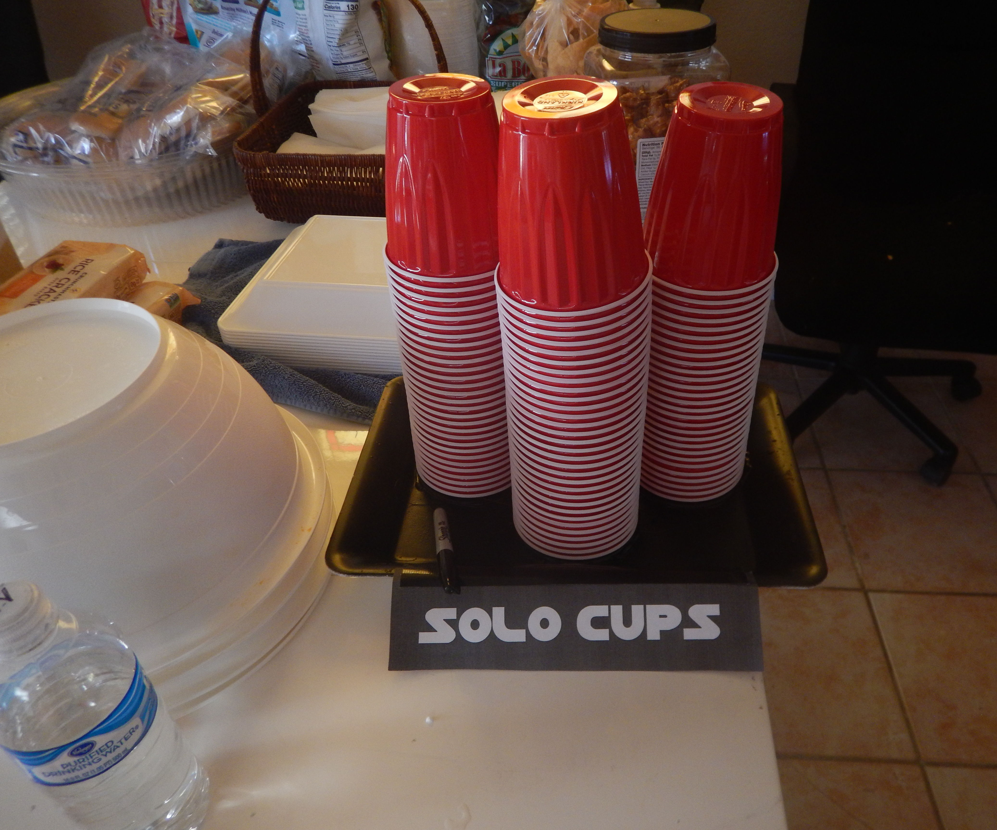 Star Wars Party Cup Holder