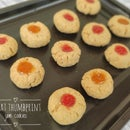 Wheat Thumbprint Cookies