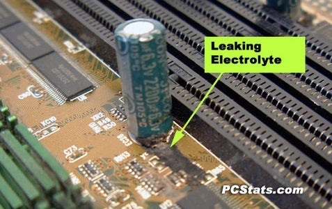 Check for Leakage of Capacitor or Look Inspect IR LED