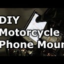 DIY Motorcycle Cell Phone Mount