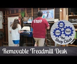 Removable Treadmill Desk