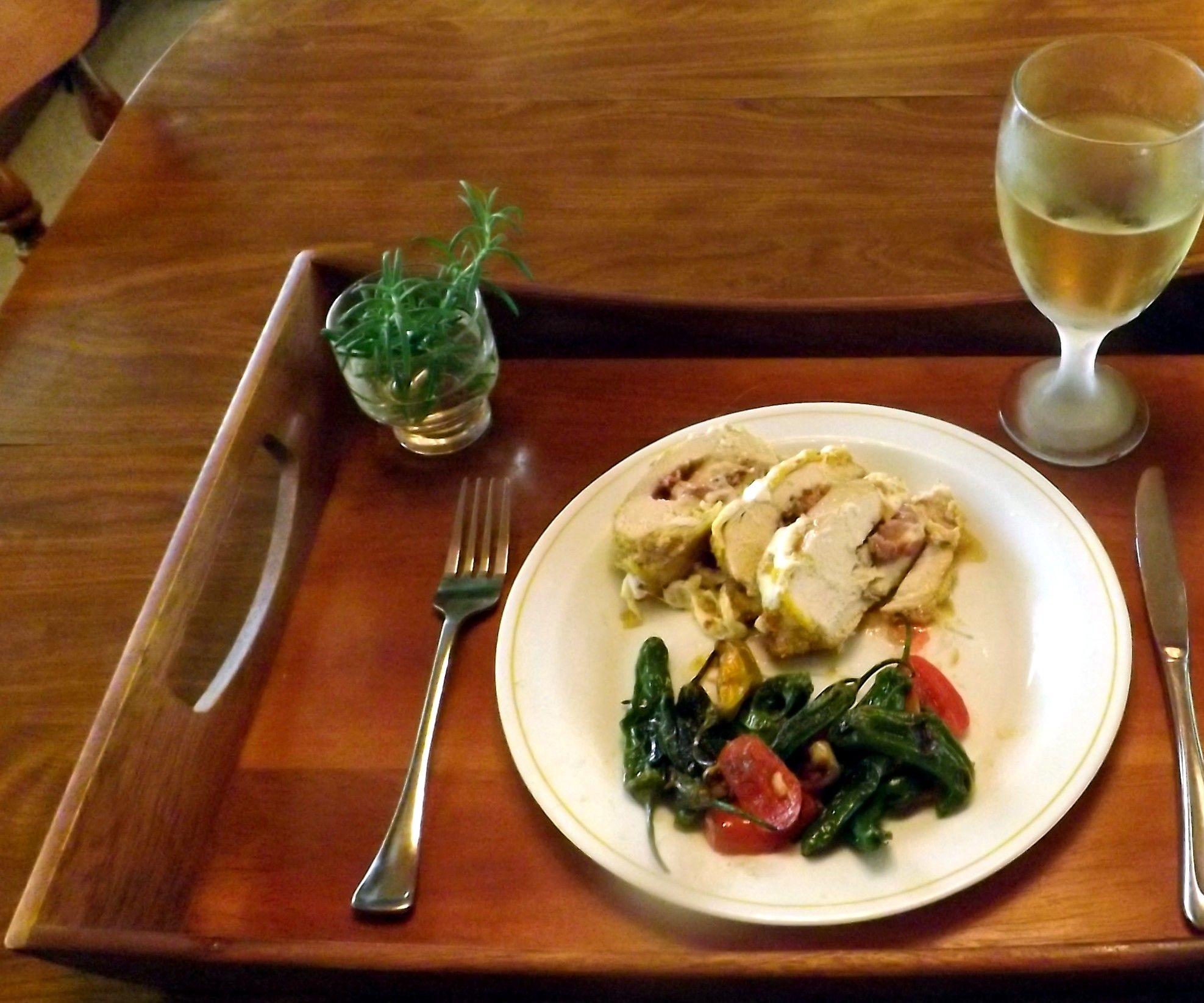 CHICKEN CORDON BLEU ITALIANO (A Gluten Free Recipe)