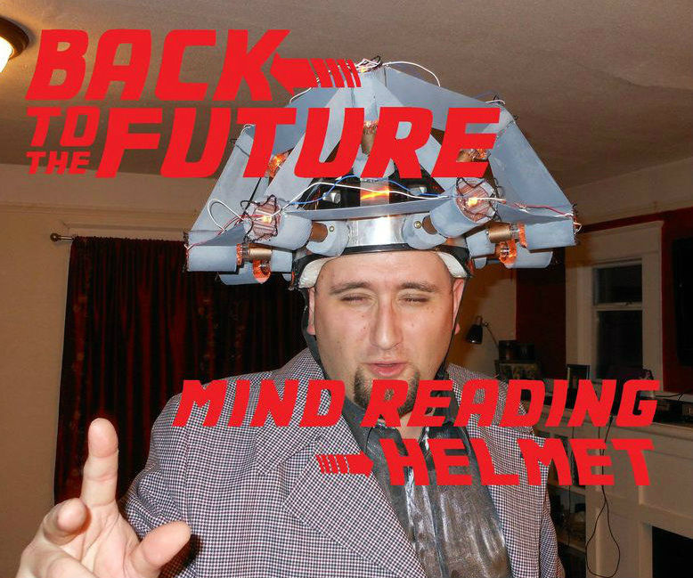 Back to the Future: Doc Brown's Mind Reading Helmet