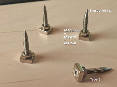 """""""Type B"""" - Holder for BCB's With Mounting Holes"""