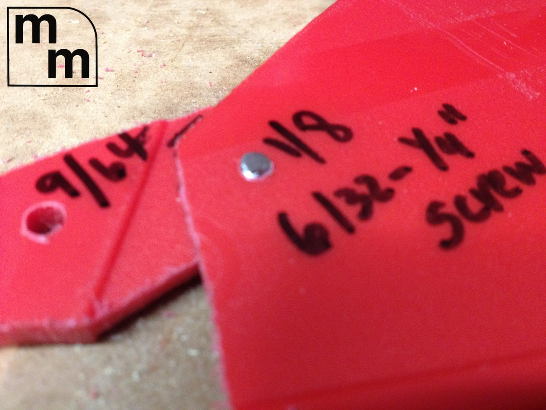 Screw Together Gauge Pieces