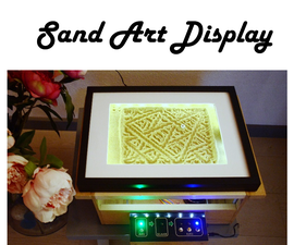 Arduino Sand Art Display
