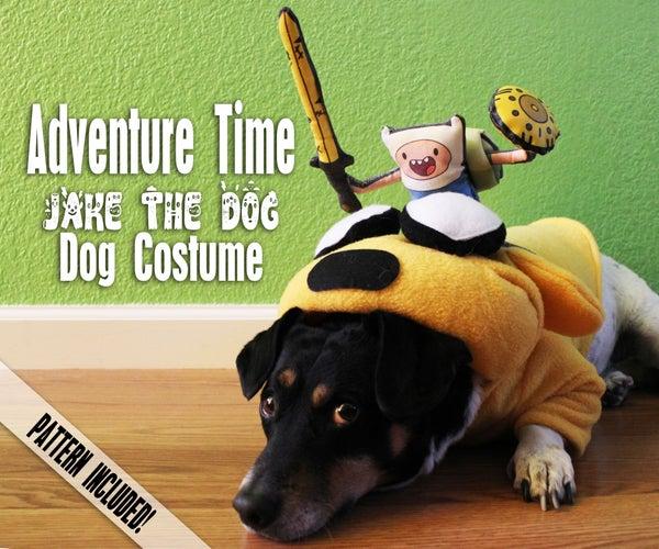 ADVENTURE TIME JAKE THE DOG - DOG COSTUME