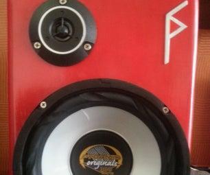 供电的高品质扬声器