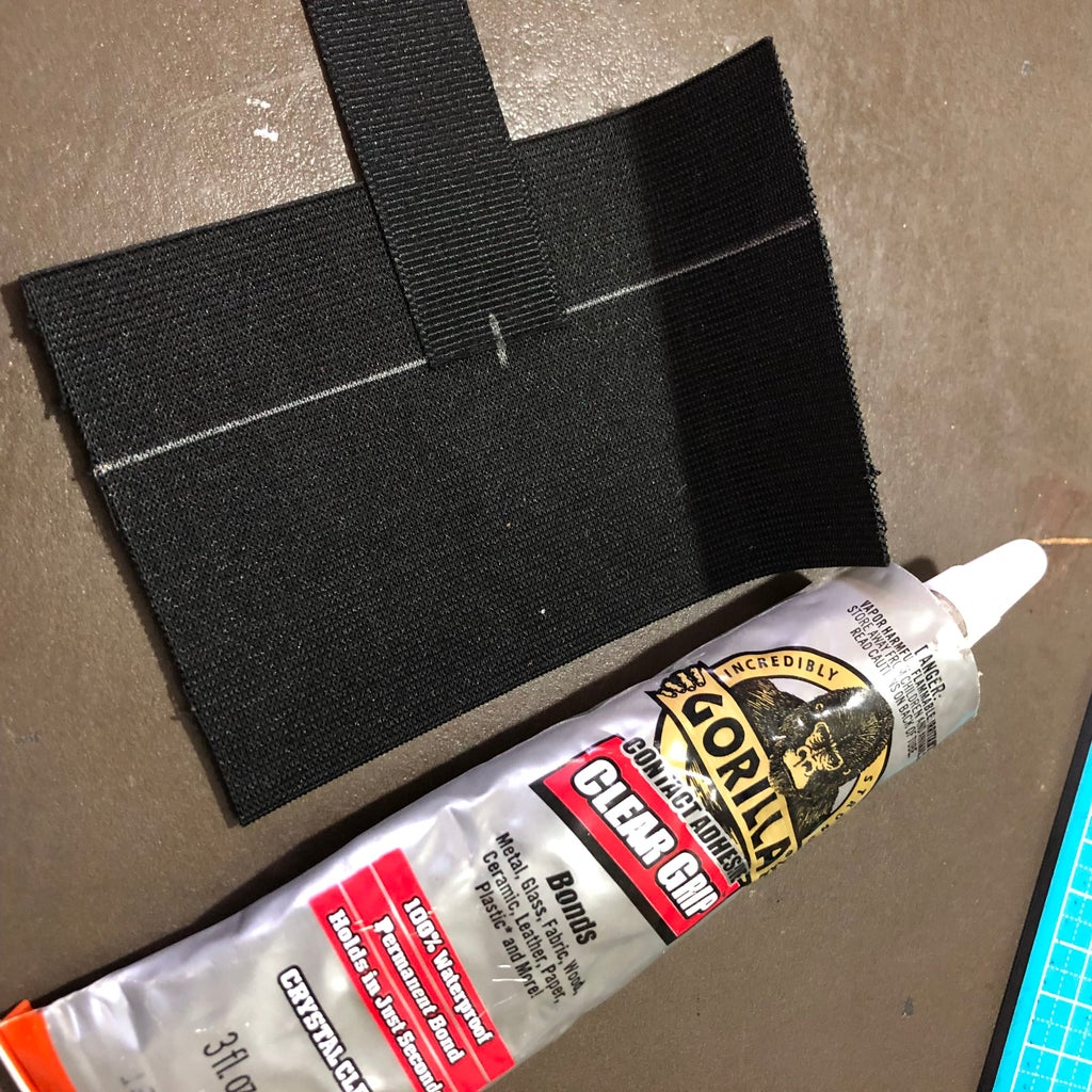 Mark the Center and Glue