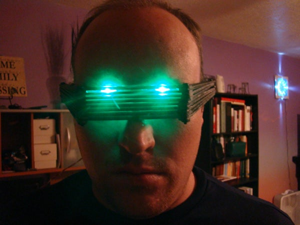 LED Popsicle Stick Glasses