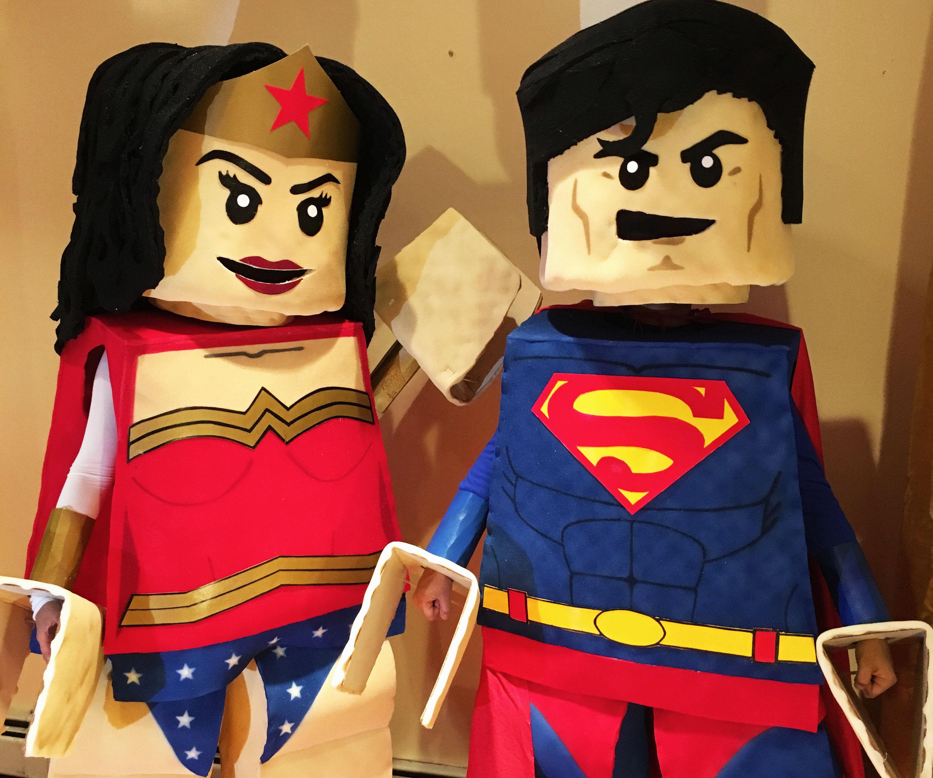 LEGO Superman & LEGO Wonder Woman