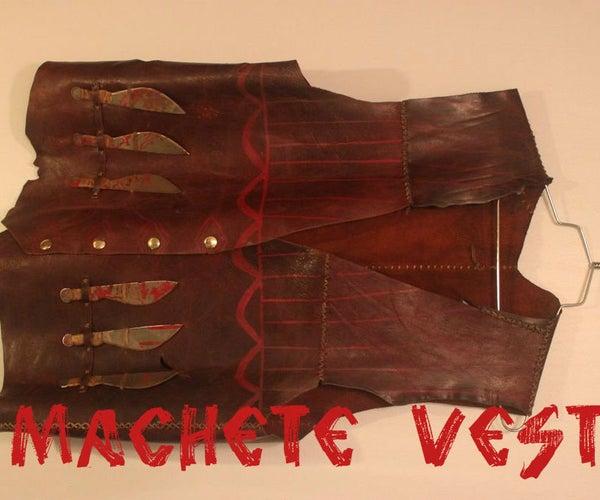 Machete Vest/ Costume