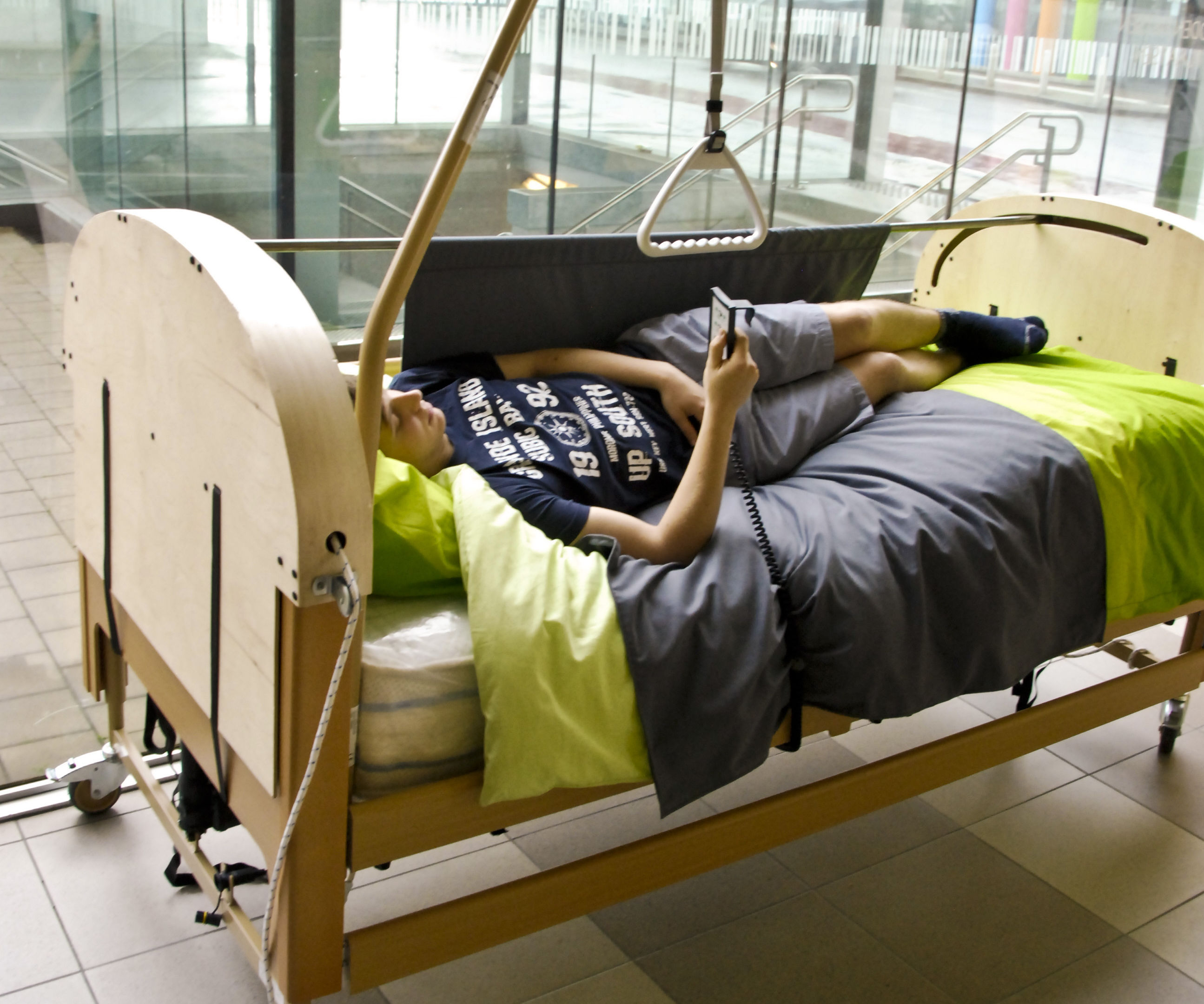 Turning Aid for Paralyzed People