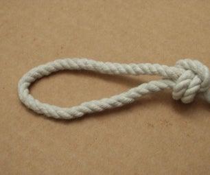 """""""Locked Snake""""  Stopper Knot"""