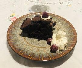 The Most Amazing Flourless Chocolate Cake
