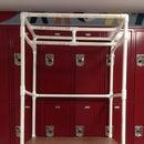Cómo hacer un organizador de armario hecho de PVC