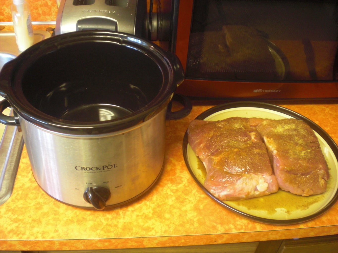Slow Cook the Pork