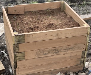 Great Big Garden Bed for Growing Giant Carrots