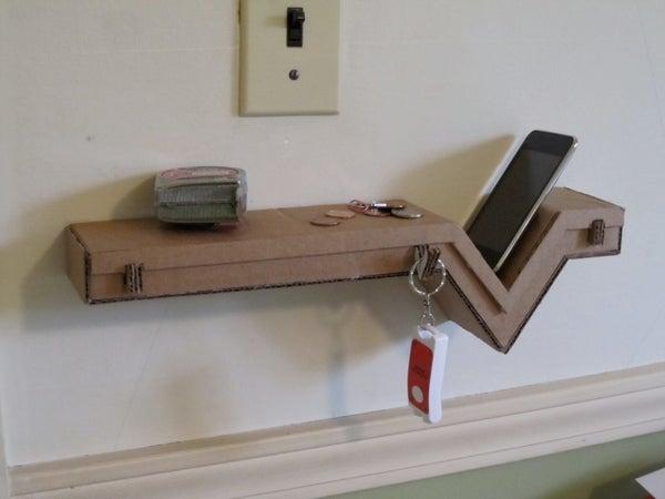 Epic Cardboard Shelf! (Just Photos)