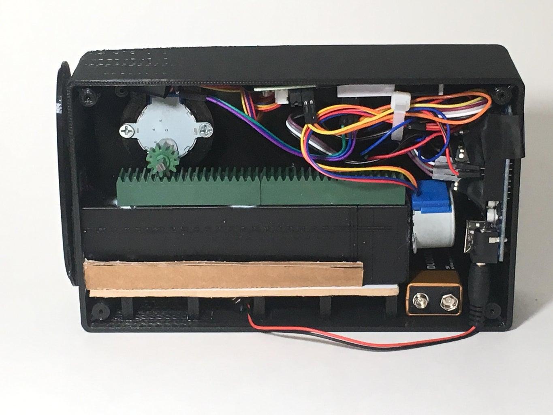 Automated Refrigerator Door Closing Device