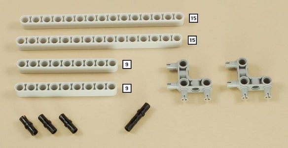 Lego NXT Steering Rover Programming and Building Instructions.