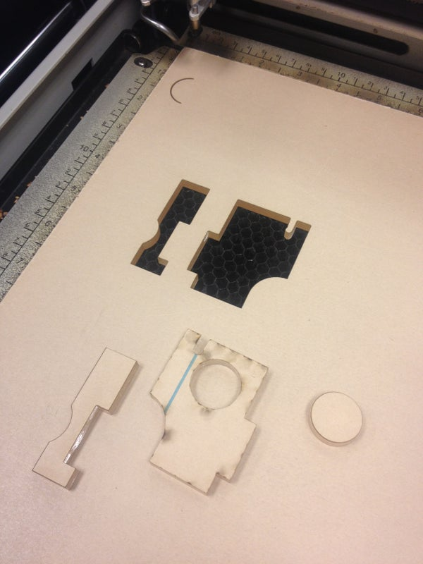 How to Remove Laser Cut Parts Without Removing the Rest of the Acrylic