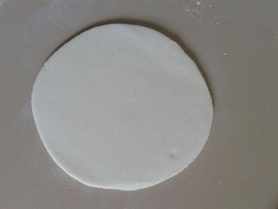 Procedure for Salt Dough Baby Foot Print Wall Hanging: