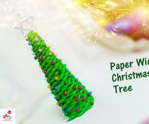 DIY Paper Wicker Christmas Tree | How to Make Paper Wicker Christmas Tree | DIY CraftsLane