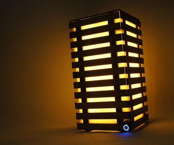 The Slat Lamp