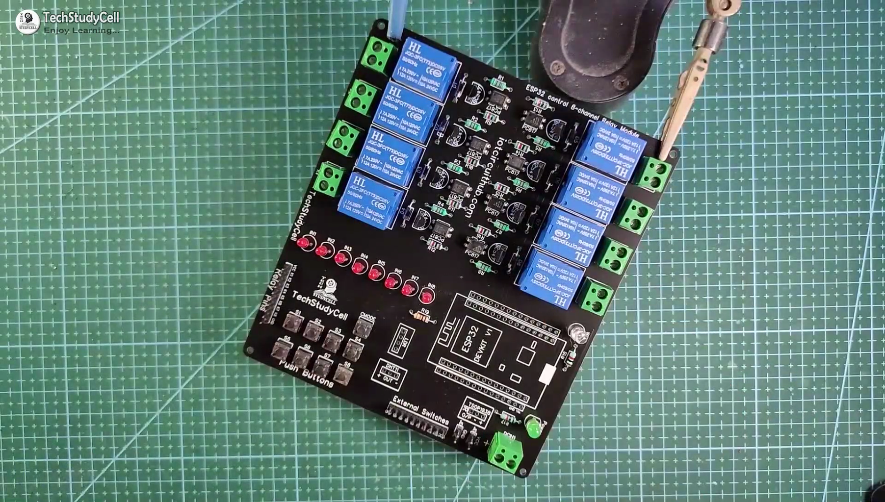 Solder All the Components on PCB