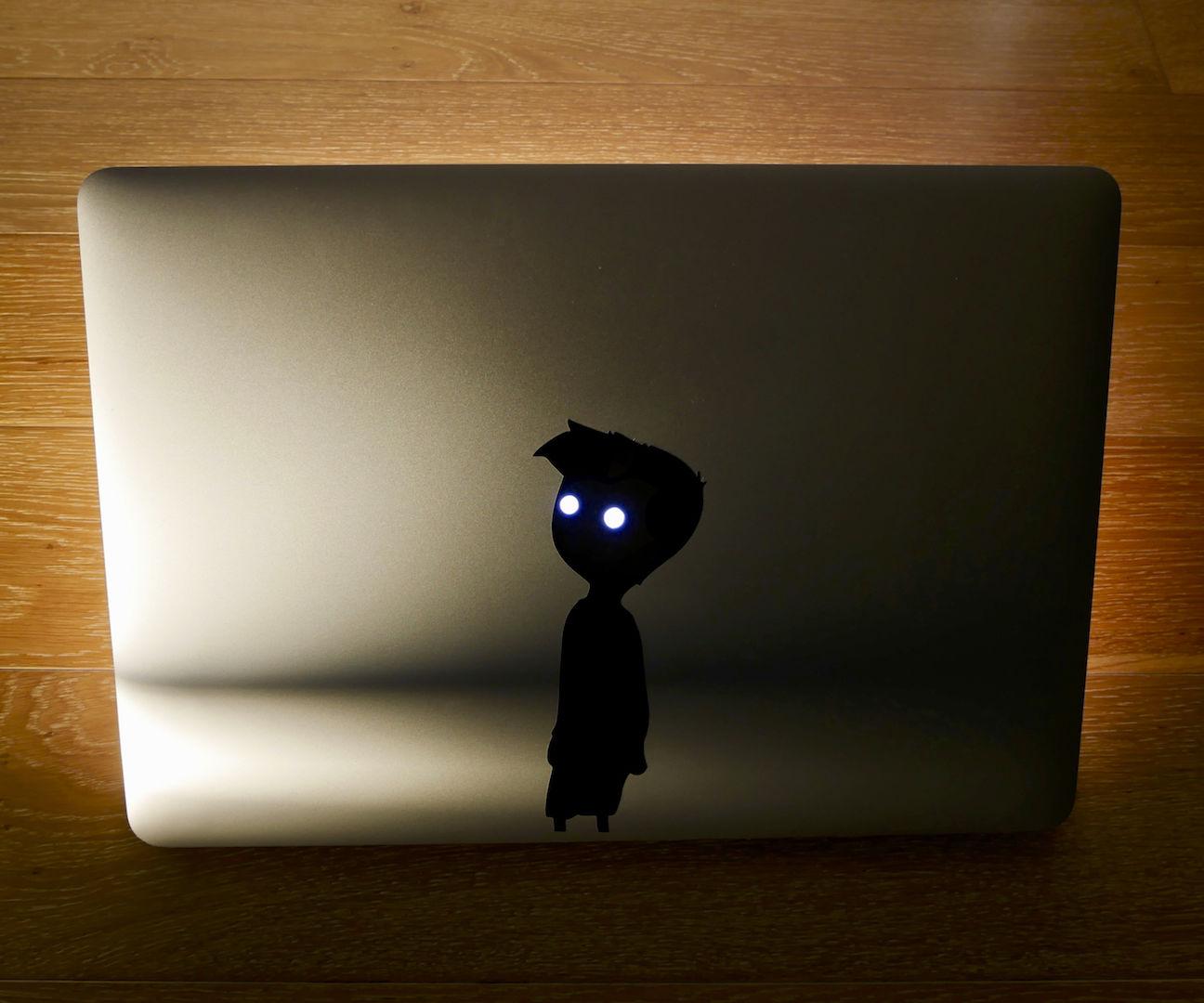 Vinyl Cutting a Custom Laptop Sticker