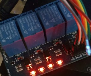 Driving a 4 Channel Relay Board With ESP8266-01 and MQTT and OpenHAB