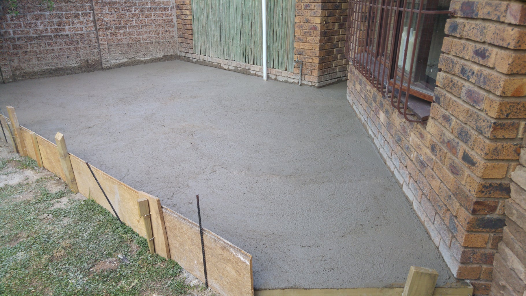 The Concrete Slab.. Completed!