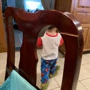 Fixing the Chair That Bites AKA Toddler Damage Control
