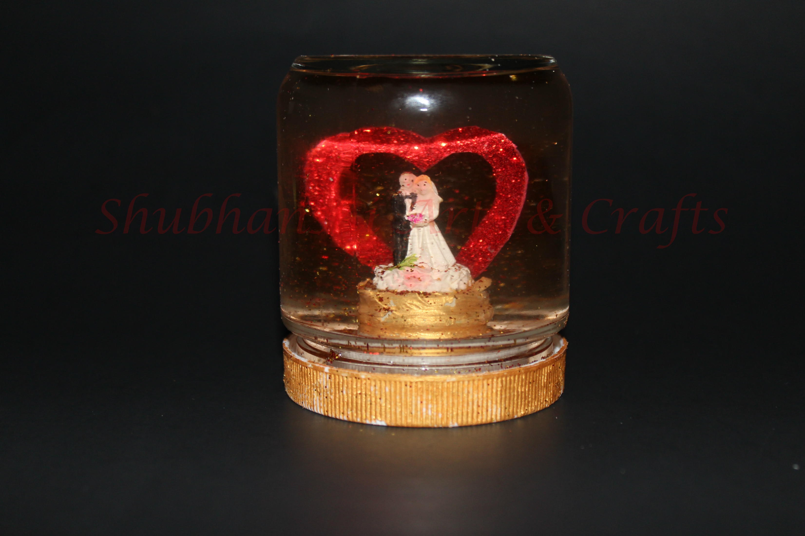 DIY Valentine's Love Globe | Valentine's Day Craft Ideas | Gift for Love