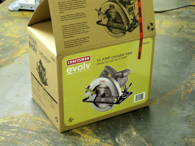 Combination Circular/Table Saw