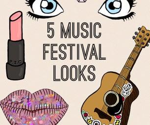 5 Easy Music Festival Looks