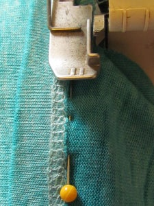 Serge Close to the Original Serge Stitching.