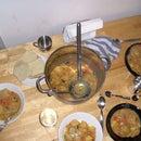 One Pot Veggie Dumpling Stew