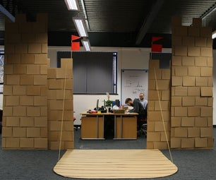 How We Built Our Giant Cardboard Castle