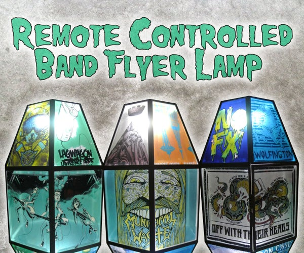 Remote Controlled Band Flyer Lamp