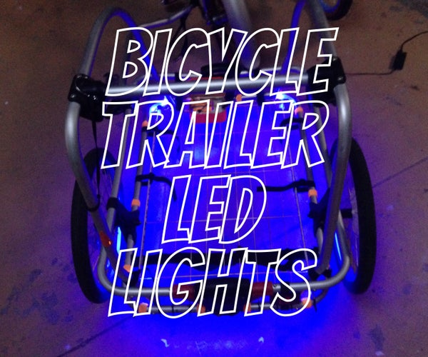 Bicycle Trailer LED Lights