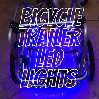Bicycle Mounted Led Strip - Fairly Low Cost.