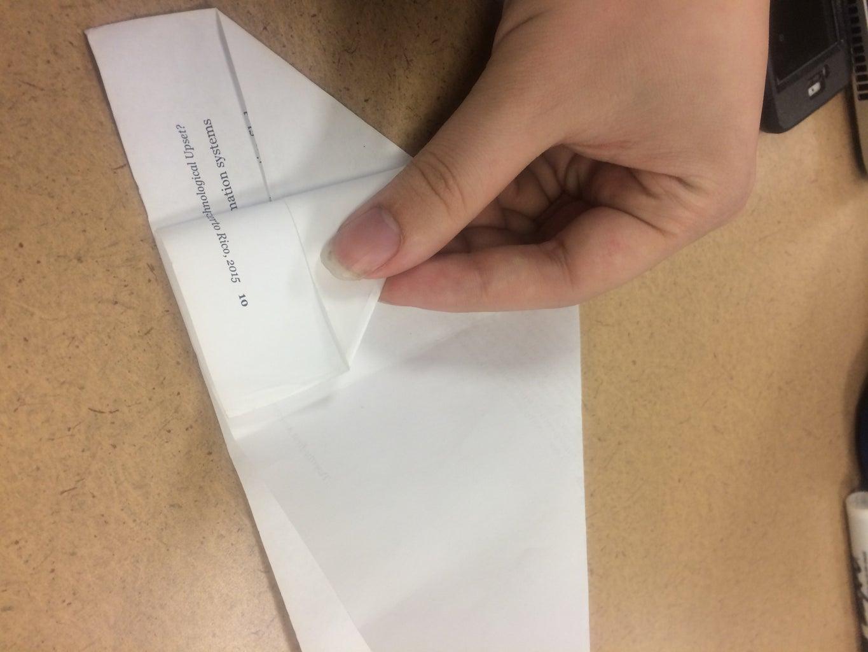 Fold Left Flap Toward Center