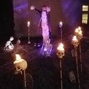 LED Skull Torches