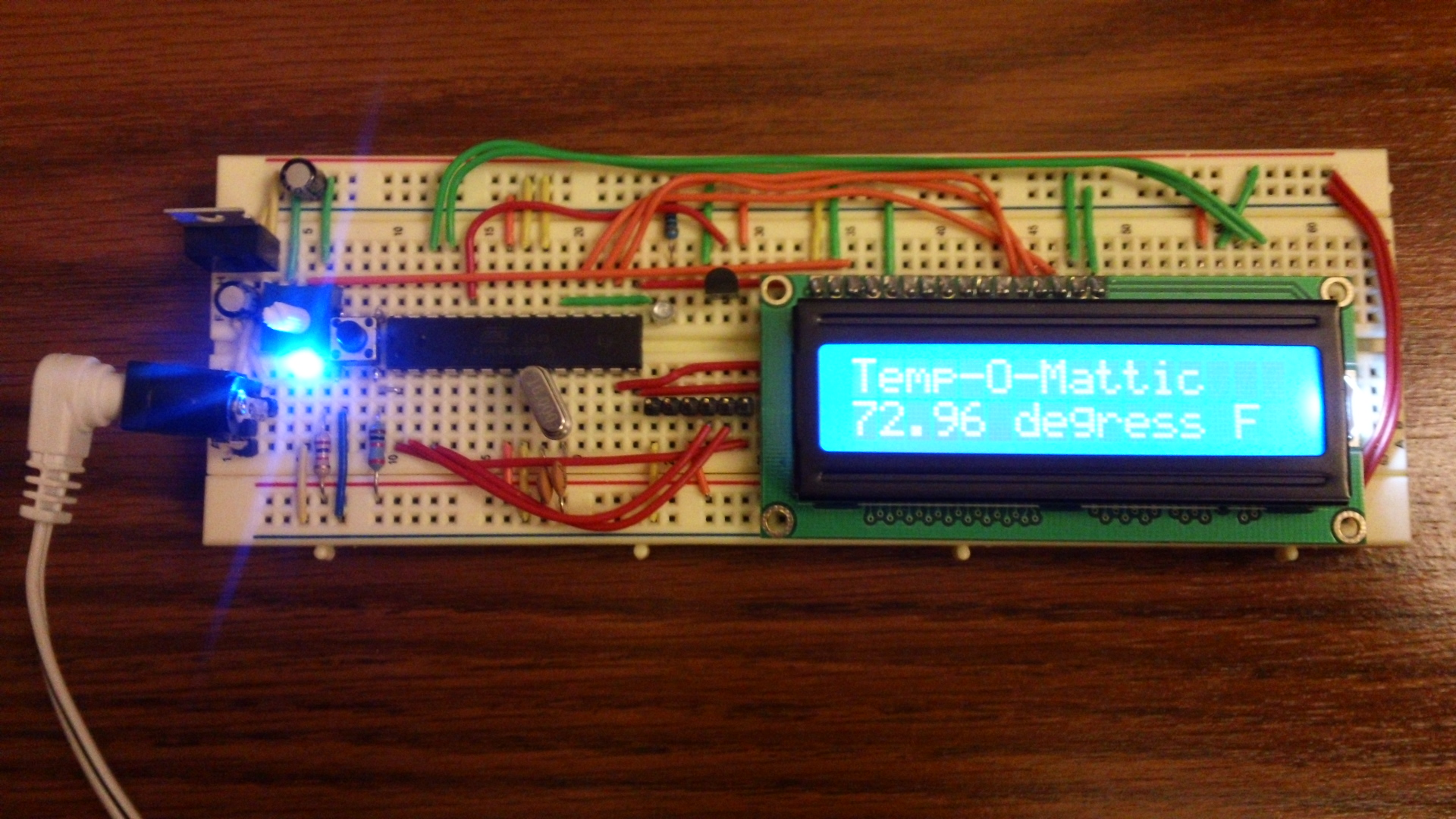 Arduino from Scratch - Digital Thermometer