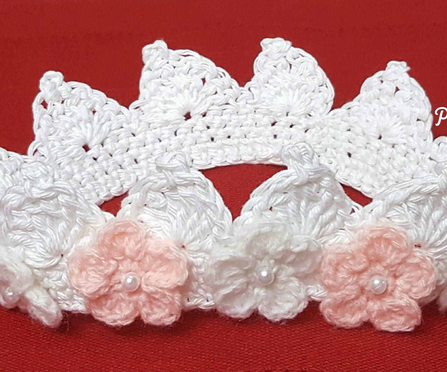Christening Flower Crown